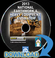 eBooks on 2013 National Earthwork and Heavy Equipment Estimator