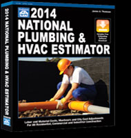 eBooks on 2014 National Plumbing and HVAC Estimator