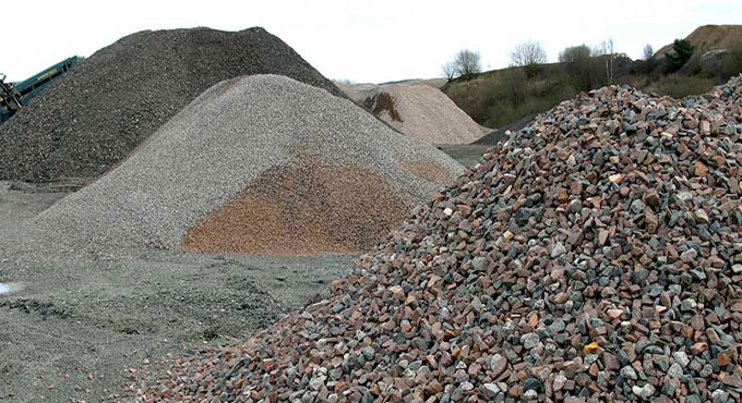 Perfect sizes of aggregates in concrete works
