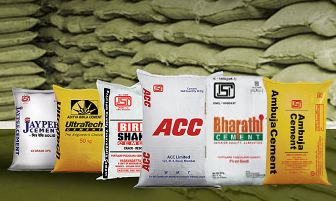 Brand of cement to be recommended for building construction