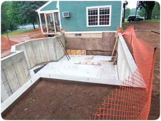 How to build a foundation from start to finish for How to build a crawl space foundation for a house