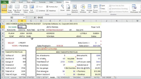 Useful video for beginners and advanced cost estimating for House build estimate calculator