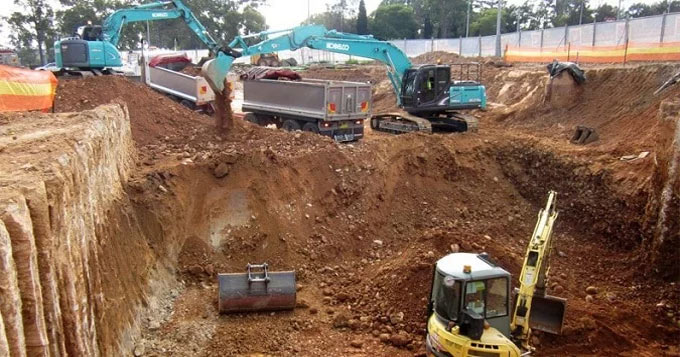 How to measure excavation work & determine it's cost