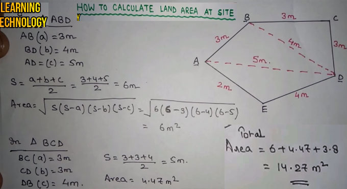 How To Calculate Land Area Land Area Measurement