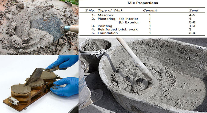 How to apply flow table for Cement Mortar
