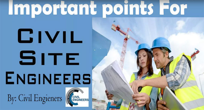 Some crucial factors a civil engineer should follow
