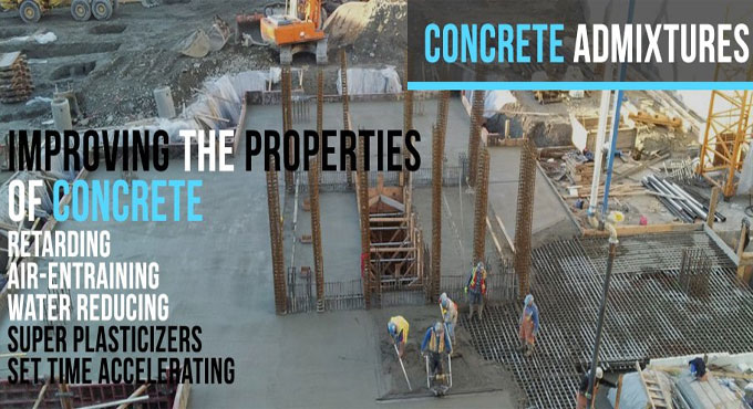 Categorization of Concrete Admixture and various uses