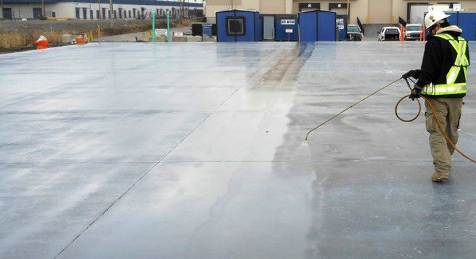 Definition of Concrete Curing Compound