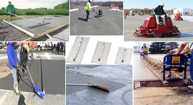 Some common types of Concrete Finishing Equipment