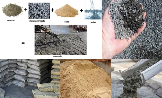 concrete building material for modern construction