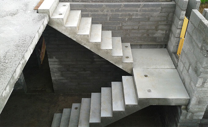 Concrete Stairs: How to Construct it