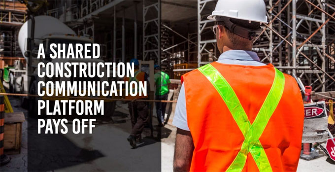 Shared Information Platform decreases Construction Costs
