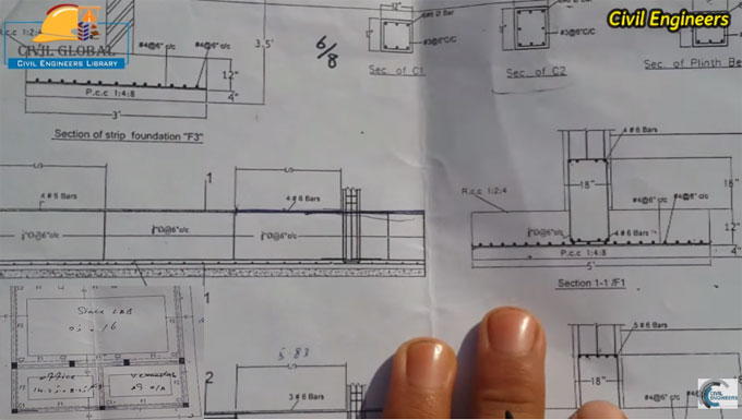 Some handy tips to study civil engineering drawings and details
