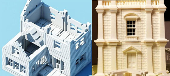 Create any 3d printable construction building instantly with modular architecture construction kits