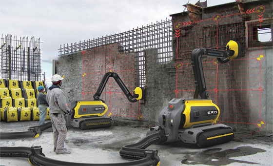 Increase the quality and efficiency of any construction project with 3d concrete printing robot