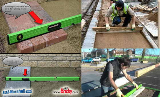 Block Paving Sand Screed Tool