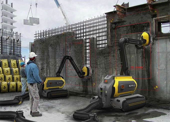The Future of Construction with Robots