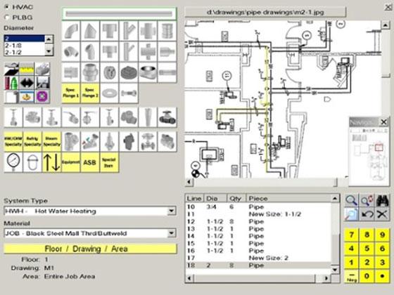 mechanical estimating software hvac sheet metal construction estimating. Black Bedroom Furniture Sets. Home Design Ideas