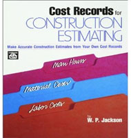 eBooks on Cost Records for Construction Estimating