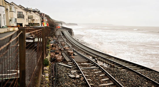 Dawlish Rail Repair to Complete by Mid April