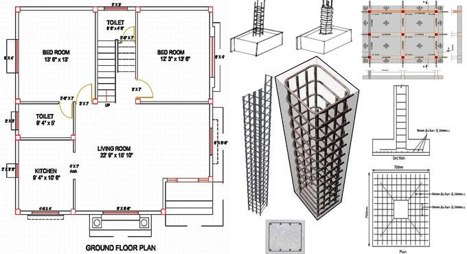column layout plan