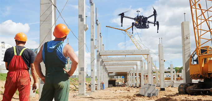 Five Ways to Avoid Drone Risks on Construction Site