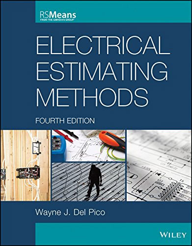 Wayne J. Del Pico has written an exclusive book alias Electrical Estimating Methods (RSMeans) 4th edition.
