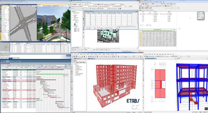 Detail lists of some useful civil engineering software