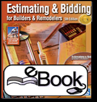 eBooks on Estimating & Bidding for Builders & Remodelers-5th Edition eBook