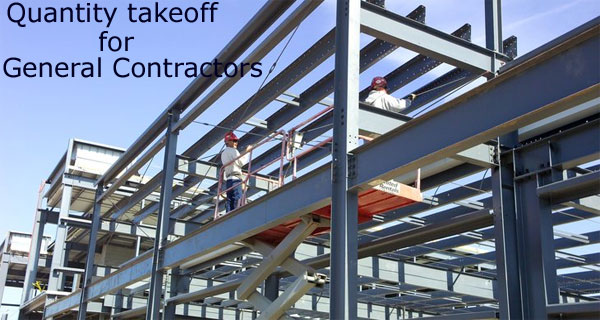 Quantity takeoff for General Contractors