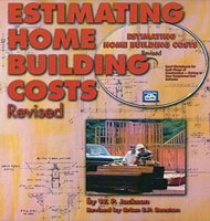 eBooks on Estimating Home Building Costs - Revised