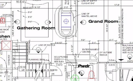 interpreting blueprint and floor plan