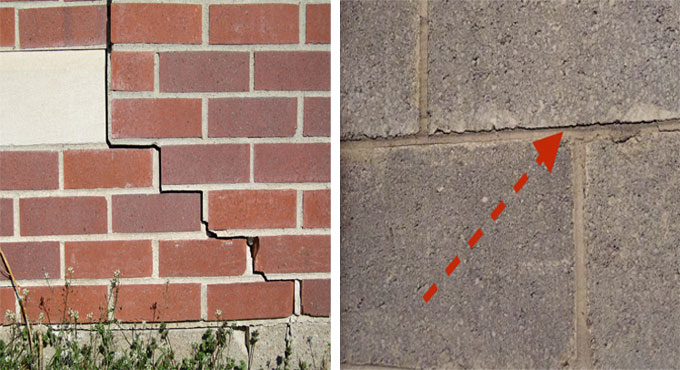 Foundation problems & causes of cracks