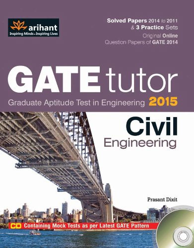 GATE Tutor 2015 - a great book for Civil Engineering