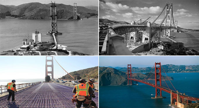 Golden Gate Bridge - A Feat of Construction Engineering