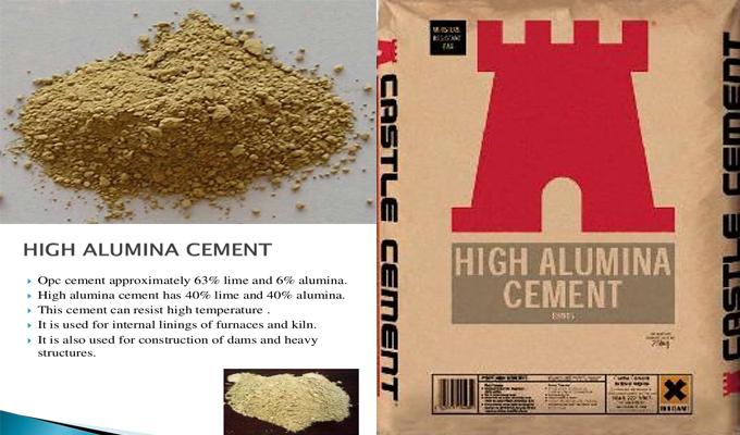 High Alumina Cement Properties Cement Construction Material