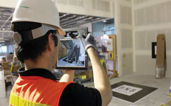 How to use augmented reality technology for construction