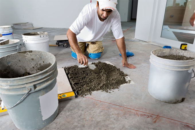 Installing Tile with careful planning