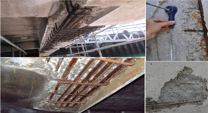 Protection from Rusting in Concrete Structures