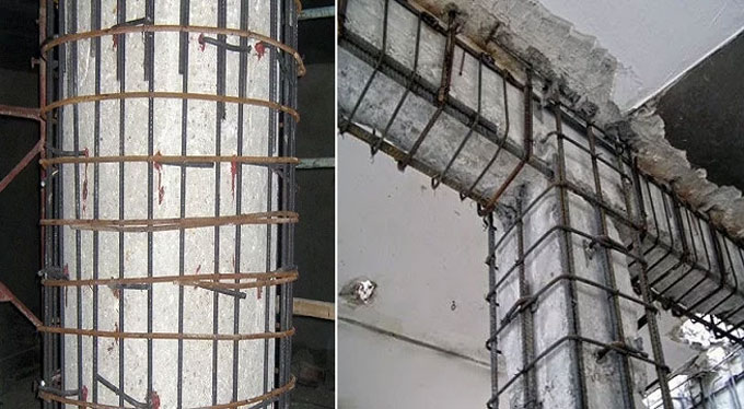 The benefits of Jacketing and Collars for Concrete Structures