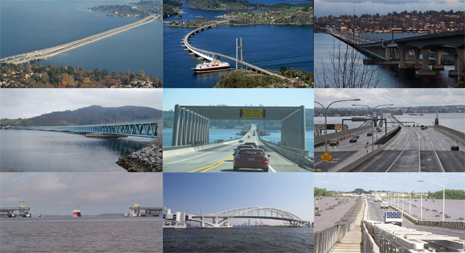 The top ten lengthiest Floating Bridges in the World and their construction details