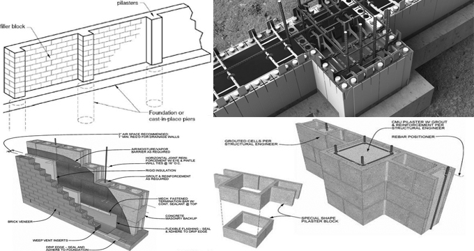 Brick Wall Construction | Concrete Wall Design | Retaining Wall Design