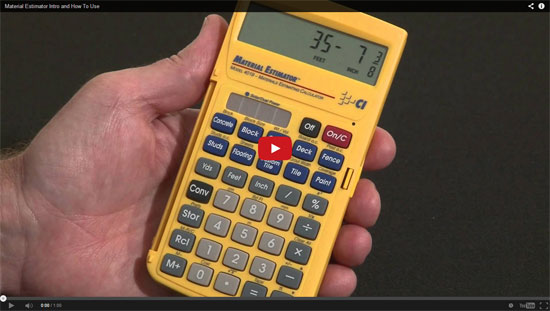 Building materials estimating calculator construction cost Building materials cost calculator