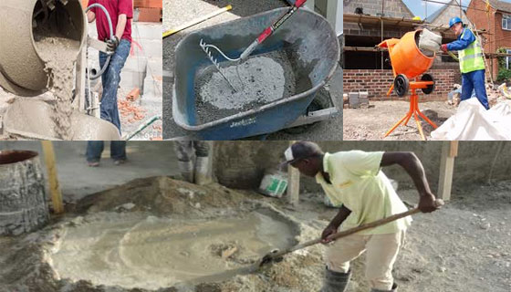 Some effective tips for Concrete Mixing