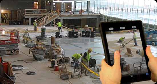 Mobile based technology can speed up communication process among Construction jobsite