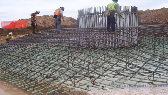 How to estimate bar bending schedule of Octagonal Footing