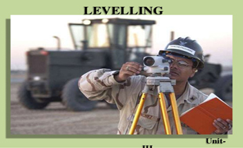 Lecture on Operations In Levelling