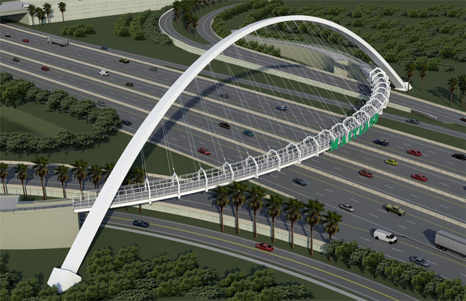 How to use Staad Pro for making analysis and design of Pedestrian Bridge Using Staad Pro