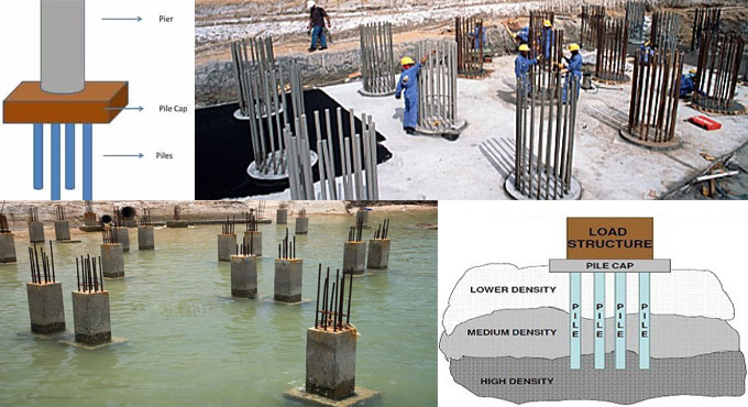 Pile foundation construction procedure