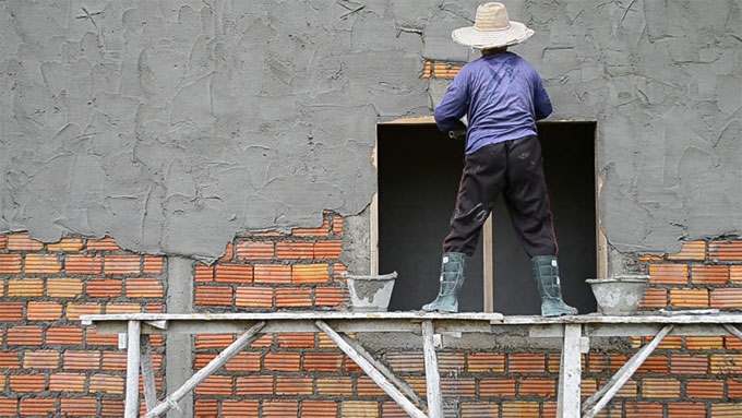 Guidelines for plastering a house